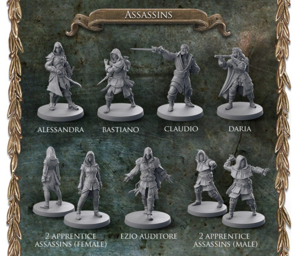 Assassin's creed minis