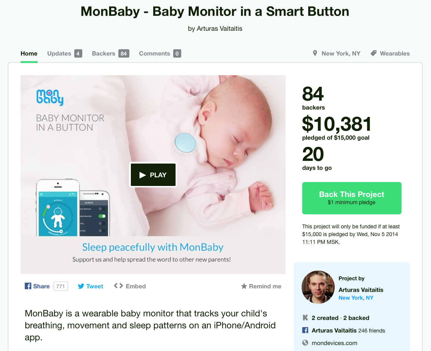 Monbaby project