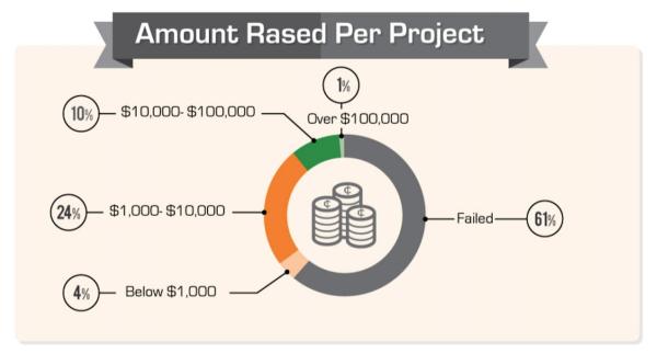 amount raised