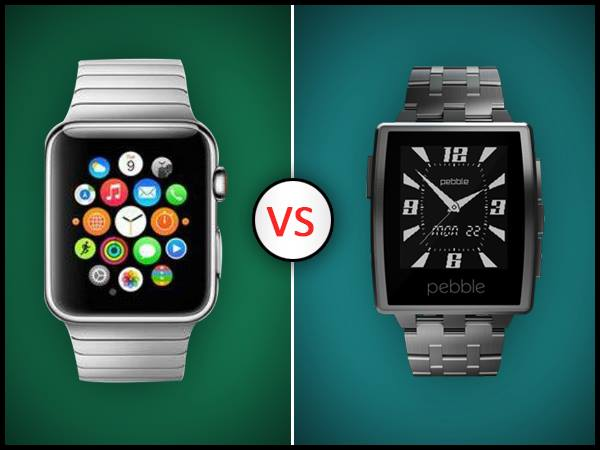 Apple-Watch-vs-Pebble-Steel