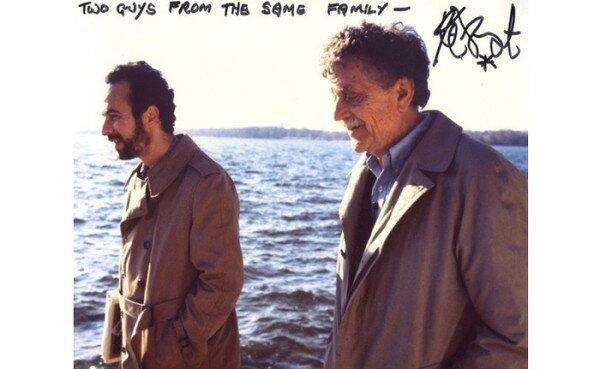Kurt Vonnegut and Robert Weid