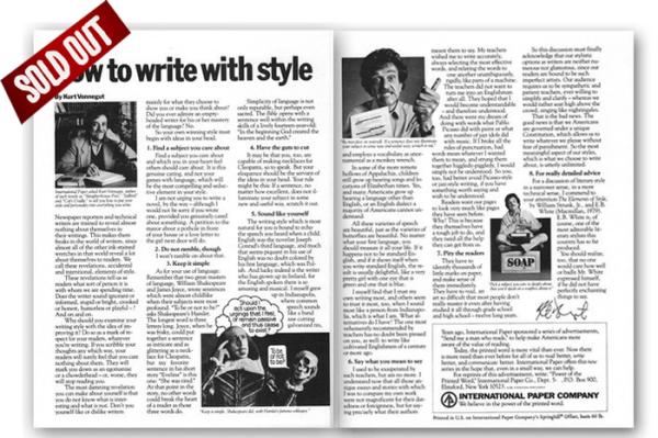 Kurt Vonnegut article