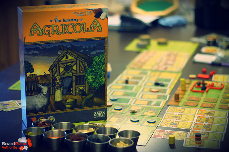 Agricola-components