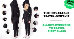 Inflatable Travel Jumpsuit